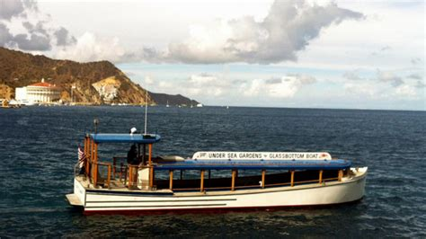 catalina island boat tour catalina glass bottom boat catalina tours