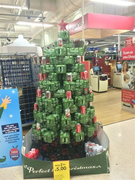 retail hell underground uk grocery store makes a coke tree