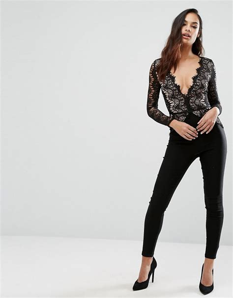 Lace Jumpsuit Original scallop lace jumpsuit