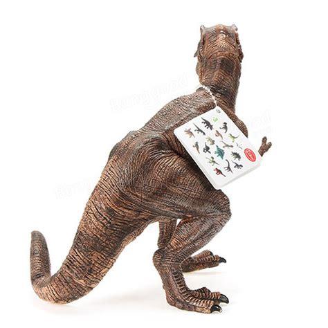 t rex figure cikoo pvc dinosaurs t rex figure tyrannosaurus rex