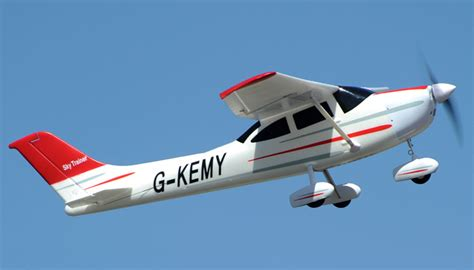 cessna 2 4ghz 4ch 55 quot rc plane ready to fly general hobby