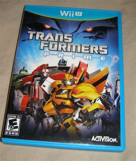Wii U Transformer Prime The transformers prime the nintendo wii u used