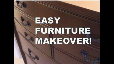 refinish furniture  sanding rust oleum cabinet