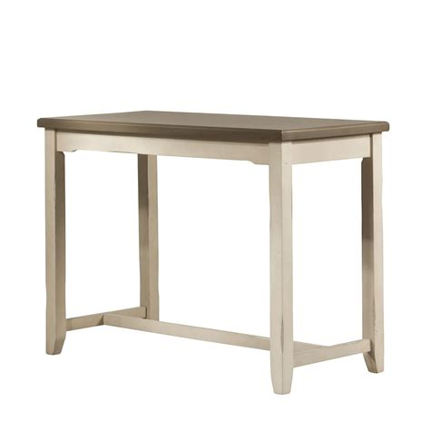 counter height side table clarion counter height side table sea white hillsdale