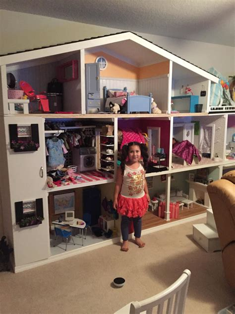house for american girl doll happy american girl doll house customer at play customized doll houses for american