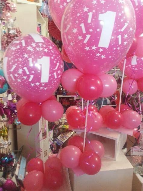 1st birthday balloon centerpieces balloon ideas
