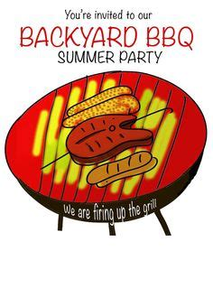 1000 images about bbq on invitations