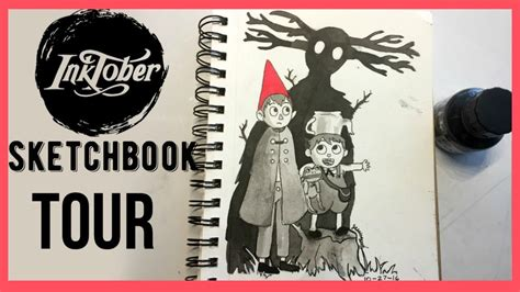 sketchbook inktober inktober sketchbook tour 2016
