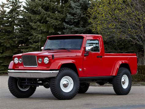 jeep track jeep up truck may not be a wrangler variant carscoops