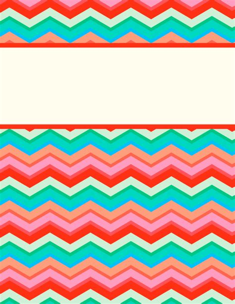 printable binder covers free free printable chevron binder cover template download the