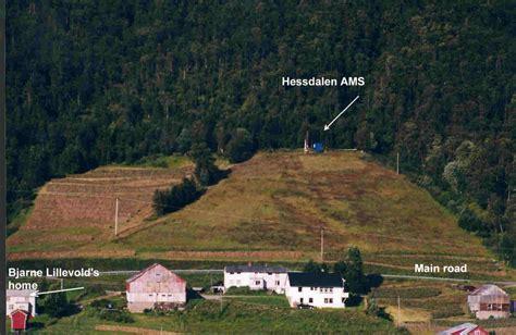 project hessdalen lokalisering av m 229 lestasjonen