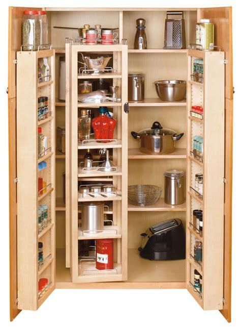 rev  shelf swing  pantry system natural