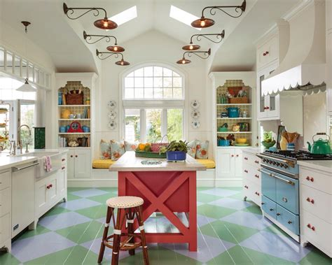colorful kitchens kitchen island bar stools pictures ideas tips from