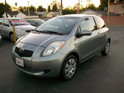Used Yaris Toyota Used Toyota Yaris Hatchback 2d 2007 Details Buy Used