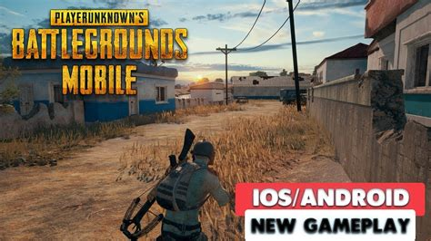 pubg mobile official gameplay ios android youtube