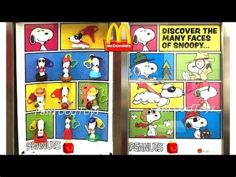 Happy Meal Snoopy Peanut Periode I 2018 next mcdonalds peanuts snoopy happy meal toys display