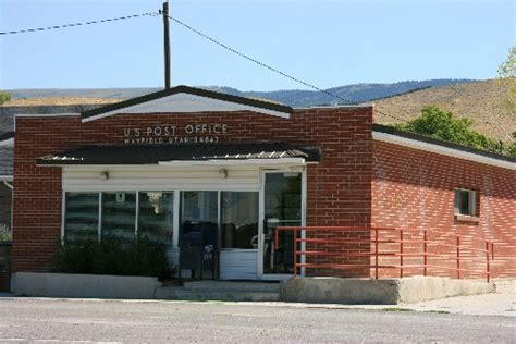 Mayfield Post Office by Mayfield Utah