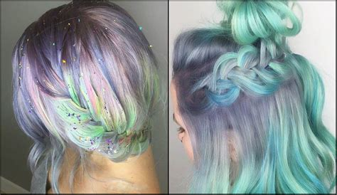 hairstyles with pastel colours impressive pastel color braids hairstyles you won t miss
