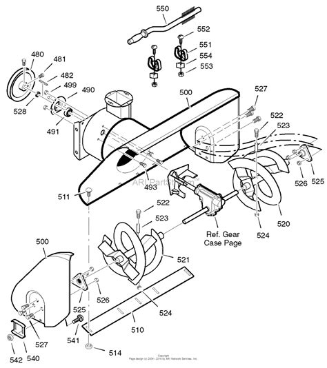 craftsman snowblower parts diagram murray 536 881800 craftsman dual stage snow thrower