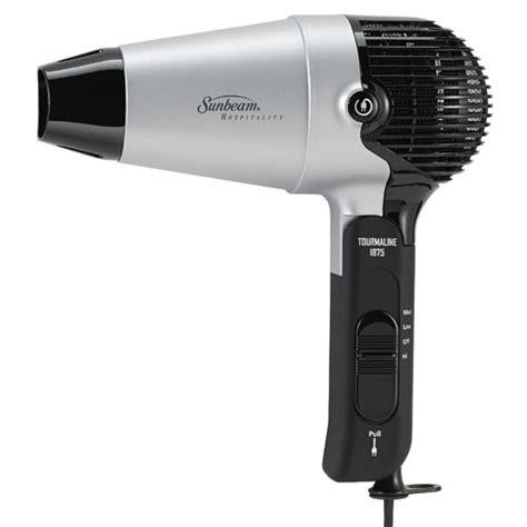 Mini Hair Dryer With Retractable Cord sunbeam 174 hd3004 005 00c 1875 watts compact folding