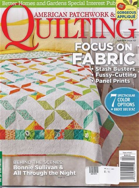 Better Homes And Gardens American Patchwork And Quilting - better homes and gardens american patchwork and quilting