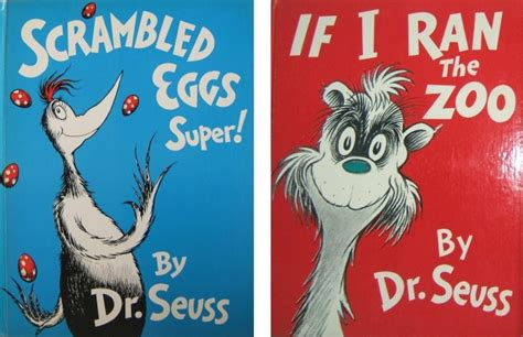 pictures of dr seuss book covers free if i ran the zoo coloring pages