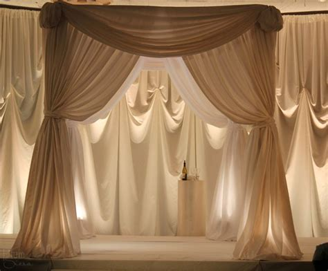 how to drape fabric on walls best 25 wedding draping ideas on pinterest