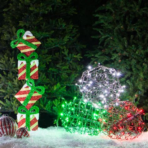 outdoor christmas yard decorating ideas