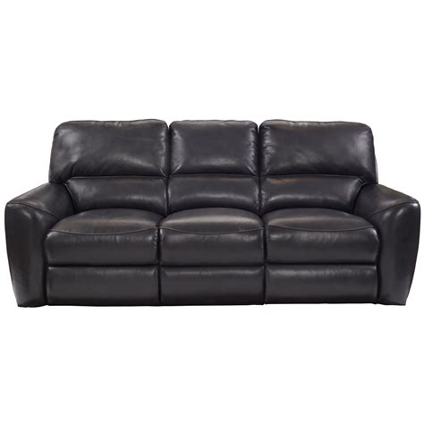 Barcalounger Stratford Power Reclining Leather Sofa Wayfair Barcalounger Reclining Sofa