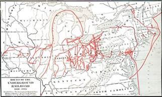 underground to canada map escape in history ohio