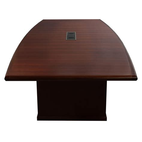12 ft conference table steelcase used wood veneer 12ft conference table mahogany