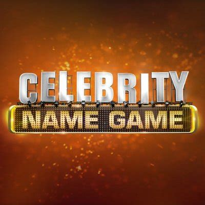 what is celebrity name game celebrity name game celebnamegame twitter