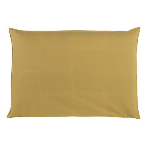 fodera testata letto fodera di testata da letto giallo senape 160 cm soft