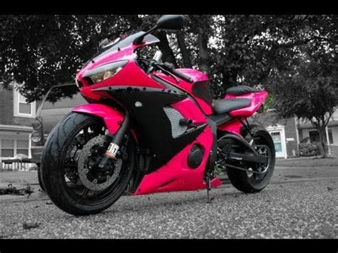 how to paint a motorcycle in your garage pink edition
