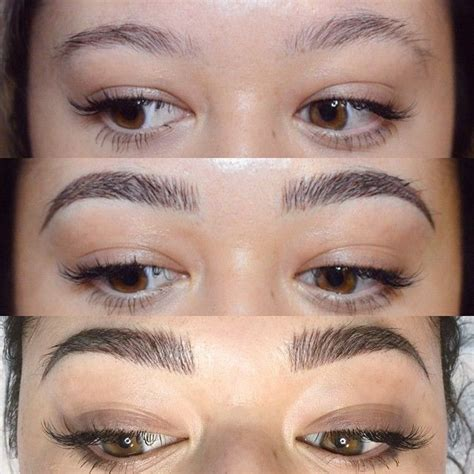 tattoo eyebrows touch up 395 best images about microblading on pinterest semi