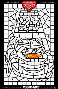 crayola coloring pages cars disney cars mosaic crayola ca