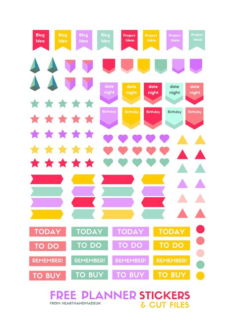printable diary stickers free planner stickers png 2 400 215 3 394 pixels planner