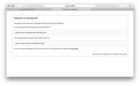 sle codeigniter application download php codeigniter เน นใช งาน ตอน 1 ดาวน โหลดและต ดต ง