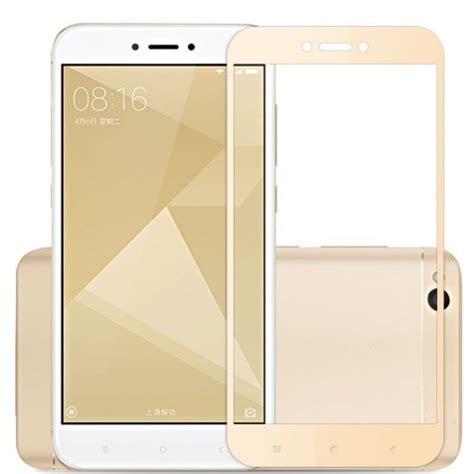 tempered glass cover imak for xiaomi redmi 4x gold mobilepro shop