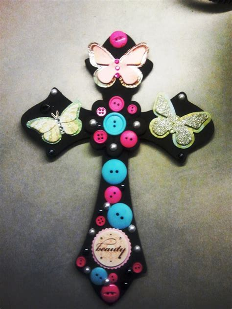 crafts with buttons for button craft easter