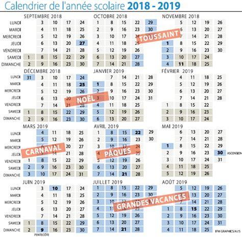 calendrier scolaire 2017 2018 belgique