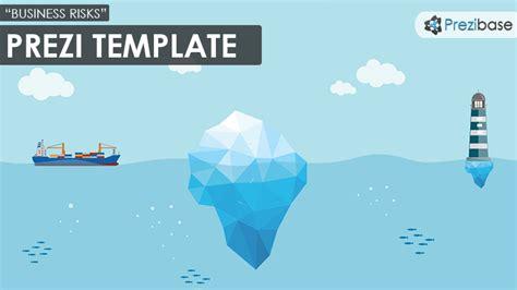 Unique Desk Ideas business risks prezi template prezibase