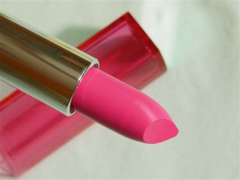 Lipstik Maybelline Pink Alert maybelline color sensational pink alert lipstick pow1 review swatch lotd fashion