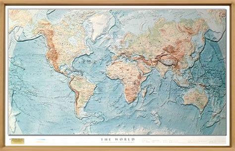 cornice muto mappa in rilievo planisfero in rilievo con elegante