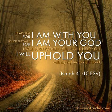 isaiah 41 10 fear not