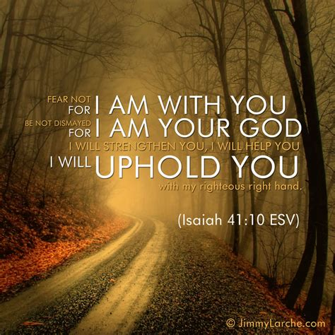 You With You 10 isaiah 41 10 fear not