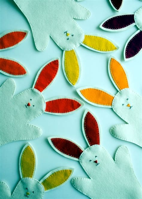 Small Kitchen Tiles Design easter bunny crafts ideas for decorating colorful and