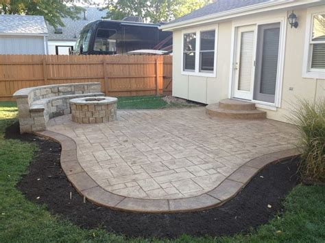 Cement For Patio by Sted Concrete Patio Pavers Cost Intsallation Price