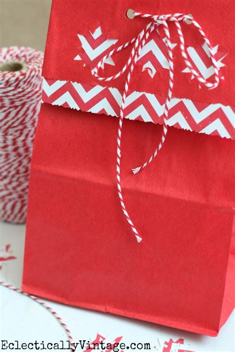 How To Make A Paper Lunch Bag - how to make gift bags out of brown paper bags