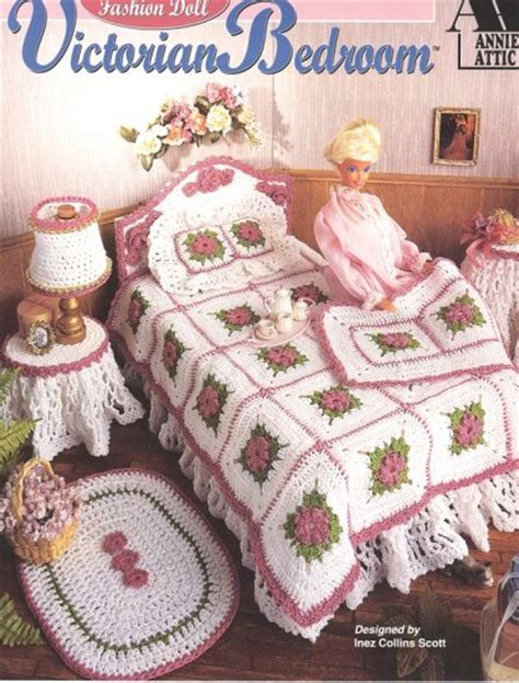 fashion doll bedroom fashion doll bedroom crochet pattern book new